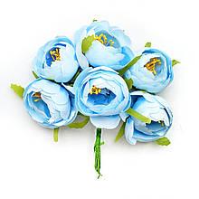 Півонії міні блакитні 4см