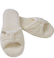 Тапочки махровые Pera от Hamam ivory размер 36-37