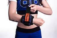 Утяжелители для рук вес 4 кг пара (2 шт по 2 кг) вес регулируется
