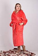 Халат женский теплый  махровый . Размеры 44 - 56