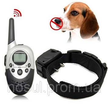 РЕТ-613 Тренировочный электроошейник для дрессировки собак, дальность действия до 1000м, пульт ДУ, водозащита,
