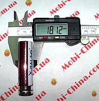 Аккумулятор Li-Ion x-balog 3.7-4.2V 8800mAh 18650 (фиолетовый), фото 1