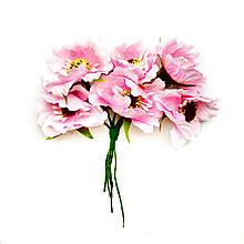 Маки міні рожеві 5см