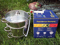 Соковарка ST (Помощница) — 8 литров (нержавеющая сталь), фото 1