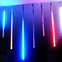 Гирлянда светодиодная тающие сосульки LED, 30 см