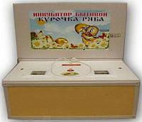 Инкубатор Курочка Ряба ИБ-100 вместимостью 100 яиц с усиленной стенкой из пластика