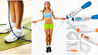 Скакалка с ЖК-дисплеем, таймером и счетчиком калорий Calorie Counter Jump Rope