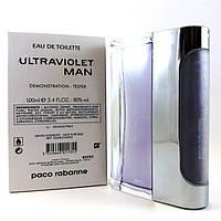Туалетная вода - тестер Paco Rabanne Ultraviolet Man (Пако Рабанн Ультрафиолет Мэн), 100 мл