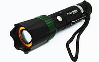 Мощный фонарик Police BL-1838 T6 158000W, ручной фонарик Bailong BL, компактный фонарь на аккумуляторе