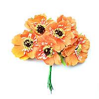 Маки оранжевые 5см