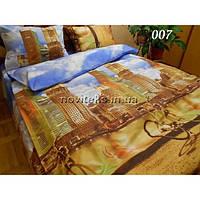 Комплект постельного белья ранфорс евро Сити
