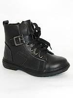 Зимние детские ботинки для мальчиков Шалунишка,  комбинированная кожа, размеры 34,36