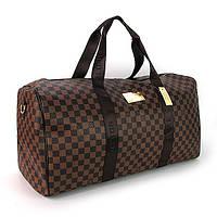 Сумка дорожная кожа PU коричневая Louis Vuitton 41412-2, фото 1