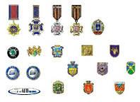 Значки медали