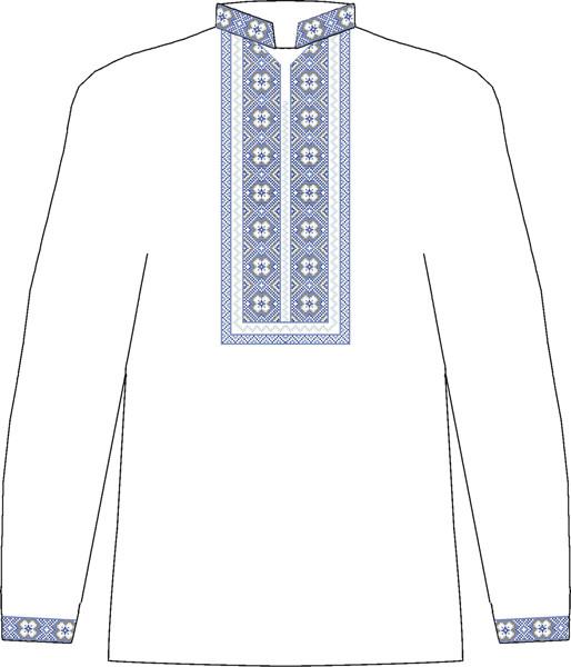 ЧСВП-26. Заготовка Чоловіча сорочка домоткана