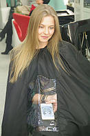 Накидка (пеньюар) парикмахерский с окошком