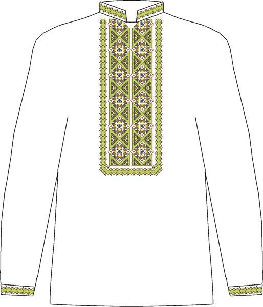 ЧСВП-28. Заготовка Чоловіча сорочка домоткана