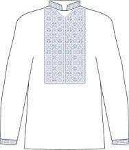 ЧСВП-29. Заготовка Чоловіча сорочка домоткана