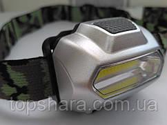 Налобный фонарик Bailong BL-2088 COB Оригинал!