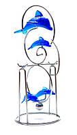 Маятник инерционный Дельфины 19,5 х 8 х 8 см