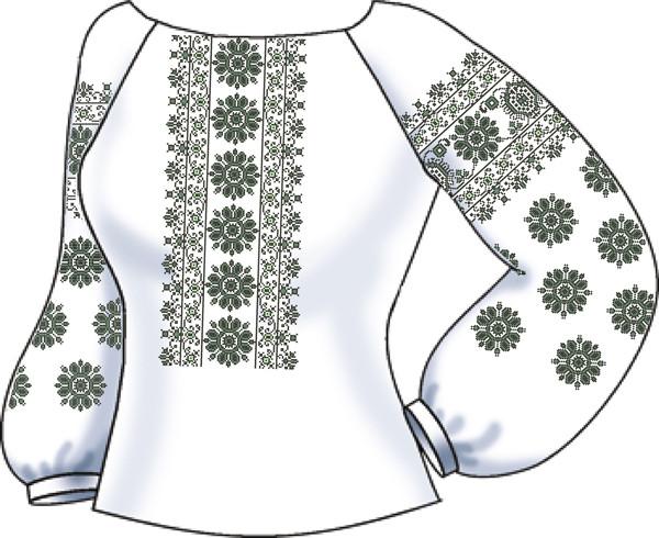 СВЖБ-42. Заготовка Жіноча сорочка лляна біла  продажа 06f393fcc3b0c