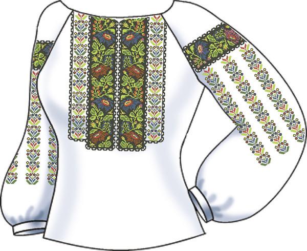 СВЖЛ-41. Заготовка Жіноча сорочка лляна  продажа 6a7d4e193fc88