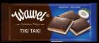 Шоколад Wawel черный с кокосово-ореховой начинкой Польша 100г