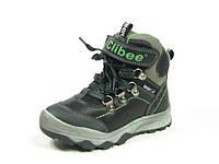 Зимние детские ботинки для мальчиков Clibee, искусственная кожа, размеры 27-32
