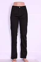 Женские джинсы больших размеров на флисе (код 7821)