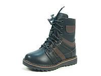 Зимние детские ботинки для мальчиков Calorie, искусственная кожа,  размеры 27-31