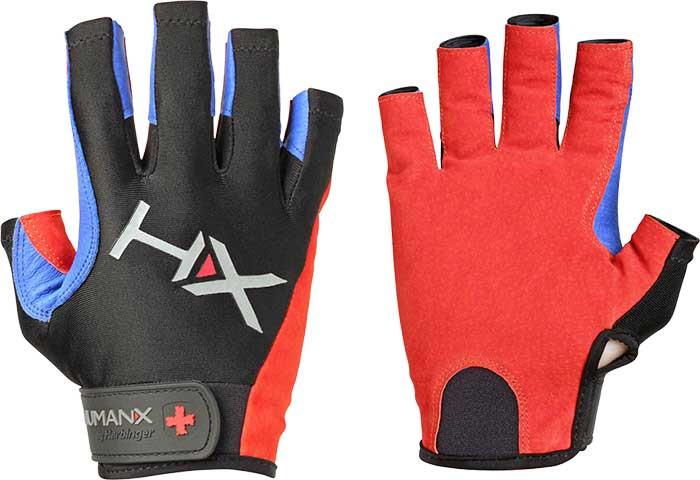 Чоловічі спортивні рукавички HumanX Men's X3 3/4 Finger Competition Glove