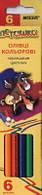 Цветные карандаши Marco 6 цветов Пегашка