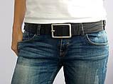 Шкіряний жіночий ремінь Rino для джинсів, фото 2