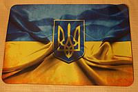 Коврик компьютерный для мышки Флаг Украины 200х280мм