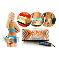 Пояс для похудения Vibra Tone, массажный пояс vibra tone, вибротон пояс для похудения, вибромассажер vibra ton