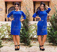 """Элегантное вечернее женское платье в больших размерах """"Эйфелева Башня"""" в расцветках, фото 1"""