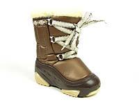Зимние детские сапоги Demar для мальчиков, ткань ,болонь-пропитка,  размеры 20-29