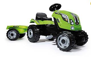 Педальний Трактор з причепом Farmer XL Smoby 710111