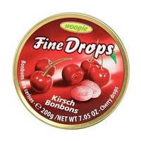 Леденцы Fine Drops Вишня, 200 г