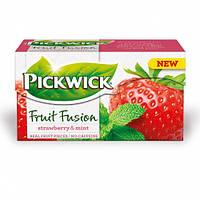 Pickwick чай Фруктовый фьюжн клубника-мята, 20 шт.