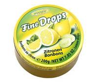 Леденцы Fine Drops Лимон, 200 г