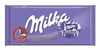 Milka шоколад молочн. Альпийское молоко, 100 г