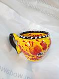 Чашка мальована капучіно, фото 4