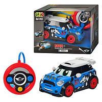 Мини гоночный автомобиль с пультом управления-рулем BMW MINI WOLF ДРИФТ