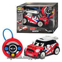 Мини гоночный автомобиль с пультом управления-рулем BMW MINI  RED JECK ДРИФТ