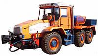 Мотовоз маневровый ММТ-3 на базе трактора ХТА-300 (локомобиль, тяговый модуль, маневровый тягач)