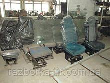 Сидіння на DAF XF 95