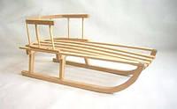 Санки деревянные Kimet., фото 1