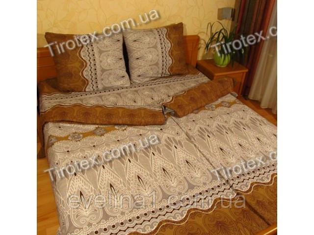 Постельное белье из хлопка 1,5 спальное отличного качества