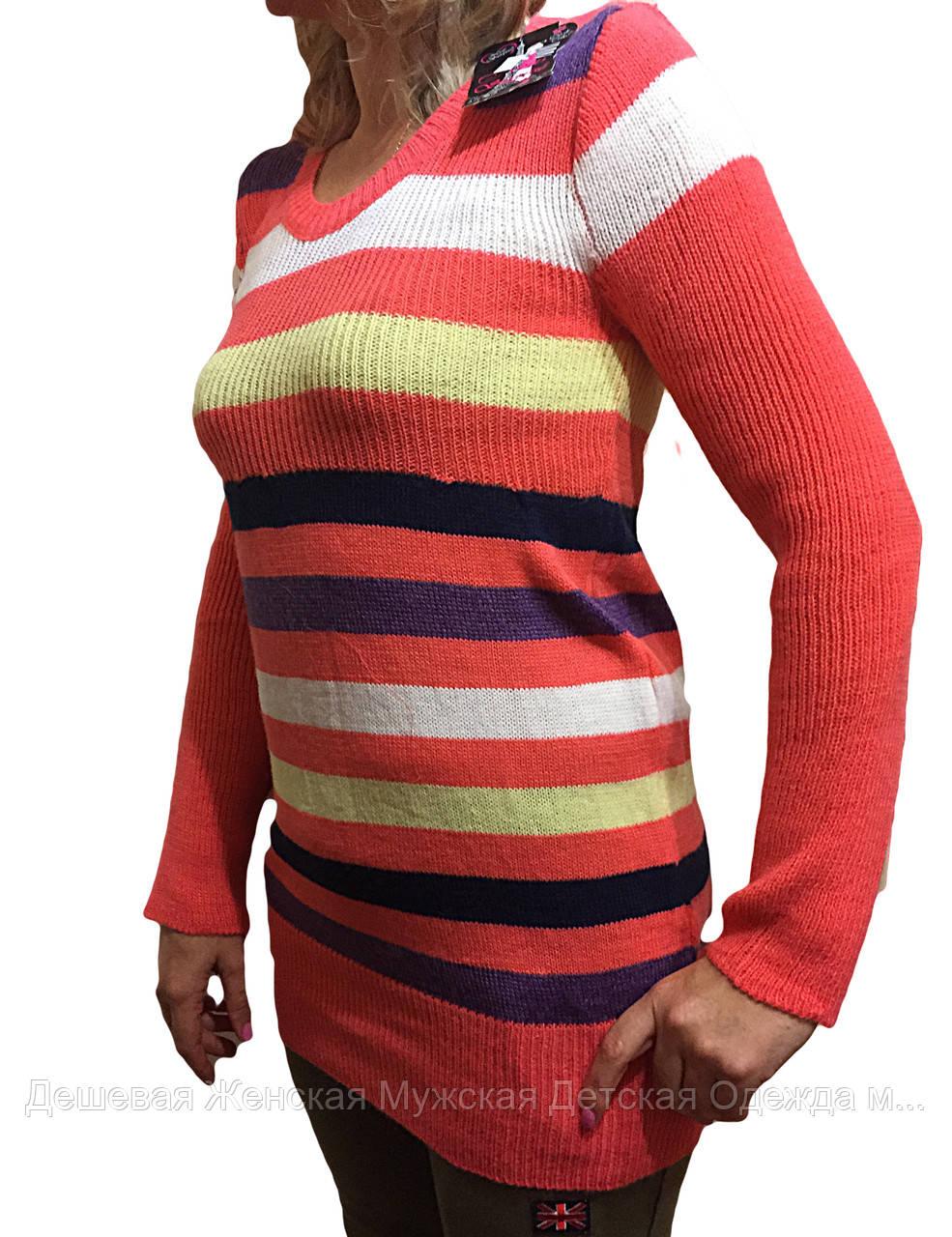 Женский свитер туника